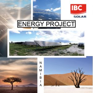 Rifornimento energetico - Energy Project Namibia- IBC Solar Projects