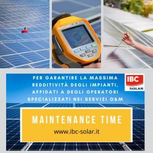 Manutenzione Parchi Solari - IBC Solar Projects